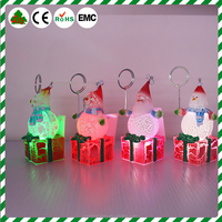 Fashional high transparent christmas acrylic ice cube crystal craft decoration