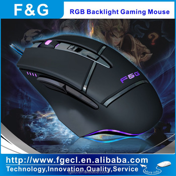 Programmable gaming mouse for MMO and PFS gaming