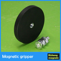 plate magnet magnetic gripper permanent magnet