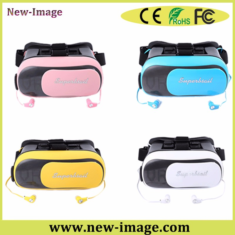 Factory price vr 3d glasses and phone cover