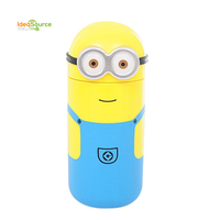 2015 Fashion Smart Minions Despicable Me Water Bottle For Best Kids Birthday Gift