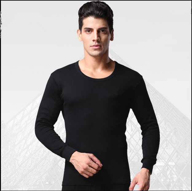 new design 100% polyester cheap thermal underwear men