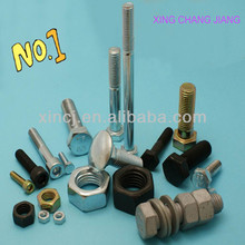 black carbon steel bolt nut grade 8.8