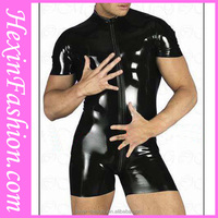 Hotsale Sexy Men Rubber Latex Catsuit