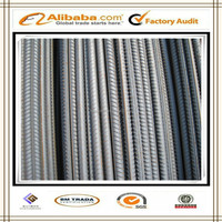 BS 4449:97 GR 460 B 6mm/8mm/ASTM A615 Grade 60 Deformed Steel Bar for Construction