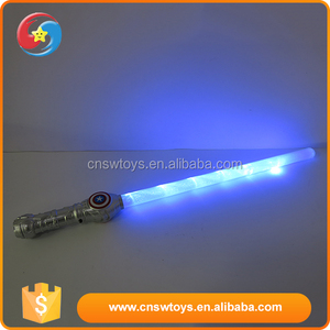 Funny plastic children toy direct factory price hot flashing sword