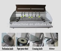 Desktop Electric Multifunctional Card Paper Creasing Slitting Folding Machine