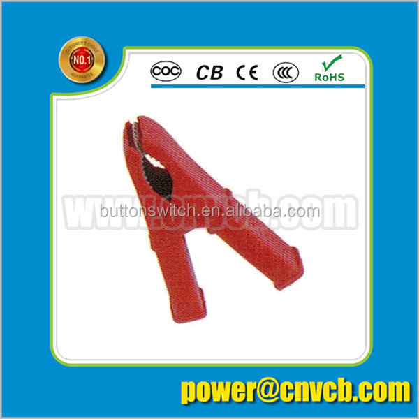 AC09 AB-C-9 red color complete insulated Aligator clip sell well crocodile clip