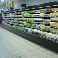 Energy Saving Supermarket Open Multi Deck