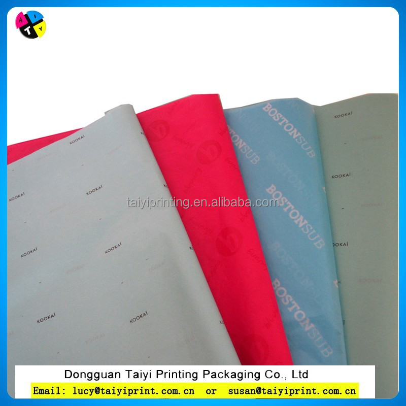 2015 customized printed heavy duty wrapping paper