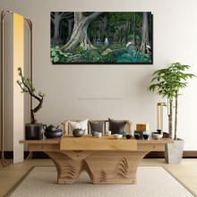forest cheap canvas art photo printing painting wholesale