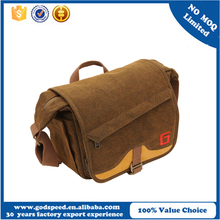 Single Shoulder Portable Dslr Mini SLR Canvas Camera bag