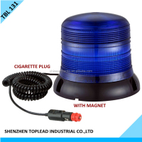 12V Magnetic LED Car Truck Emergency Beacon Light Hazard Strobe Warning Lamp Blue Color