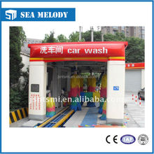 Fully automatic tunnel car wash machine and tunnel car washer type with lower prices