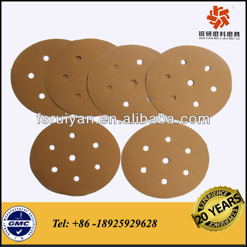 Metal & wood paint removal round sanding disc
