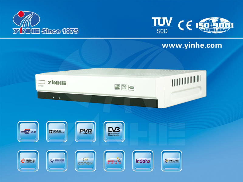 Yinhe153 latest android smart tv box/DVB-S2 Support HDMI 1.3&WIFI