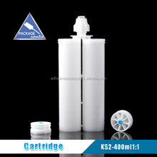 KS-2 400ml 1:1 Empty Plastic Dual Adhesive Epoxy Cartridge