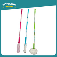 Toprank China Supplier Household Cleaning Mop Products Iron Handle Easy 360 Floor Cleaning Magic Microfiber Twist Mop