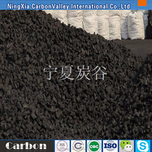 Metallurgical coke for blast furnace smelting of nonferrous metals