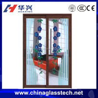 Soundproof PVC bedroom sliding door