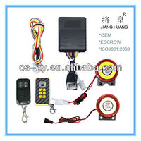 OEM motorcycle anti-theft accessories/lock alarm for motorcycle