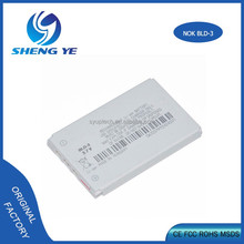 OEM Top standard BLD-3 3.7v phone 800mah li-ion battery for Nokia