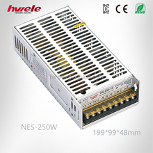 NES-250W Switch mode power supply with SGS,CE,ROHS,TUV,KC,CCC certification