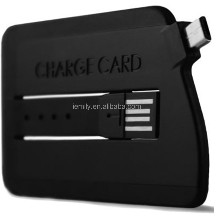 credit card customized logo good quality usb cable