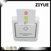 RF Card Key Hotel Energy Power