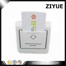RF Card key hotel Energy power saving card key switch Factory Wholesale