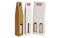 High End 1 Packed Wine Bottles Packaging Cardboard Carrier/Wine Box Producer