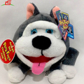 Superseptember Plush Stuffed Animal Husky Face Pal Toy
