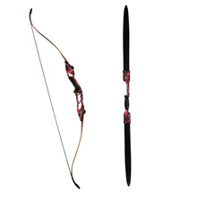 China factory supply F179 camo hunting recurve bow