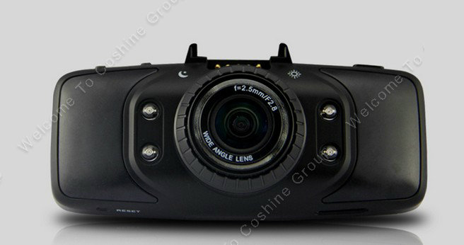 X90 Dual Lens HD 720P Car D Dash Cam Camera GPS DVR G-sensor 140 2.7 IR
