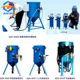 Portable dry type sand blasting machine /Sandblaster