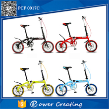 New York style Ladies 14inch single speed folding bike