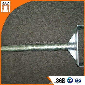 Adjustable Galvanized Scaffolding Leveling Jacks