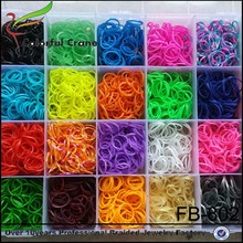 High quality colorful diy loom band,rubber band loom