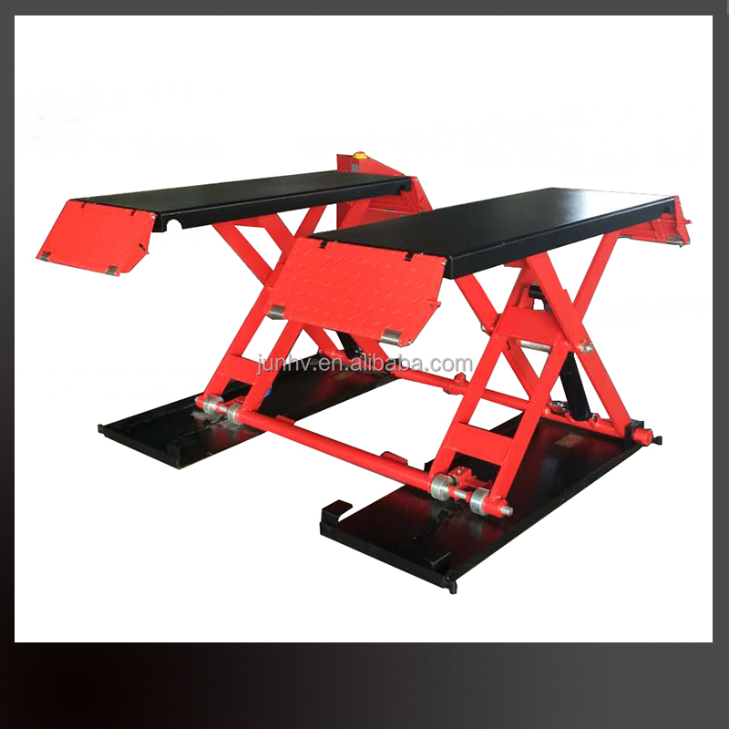 1M lifting scissor design electric mobile hydraulic car lifter for sale