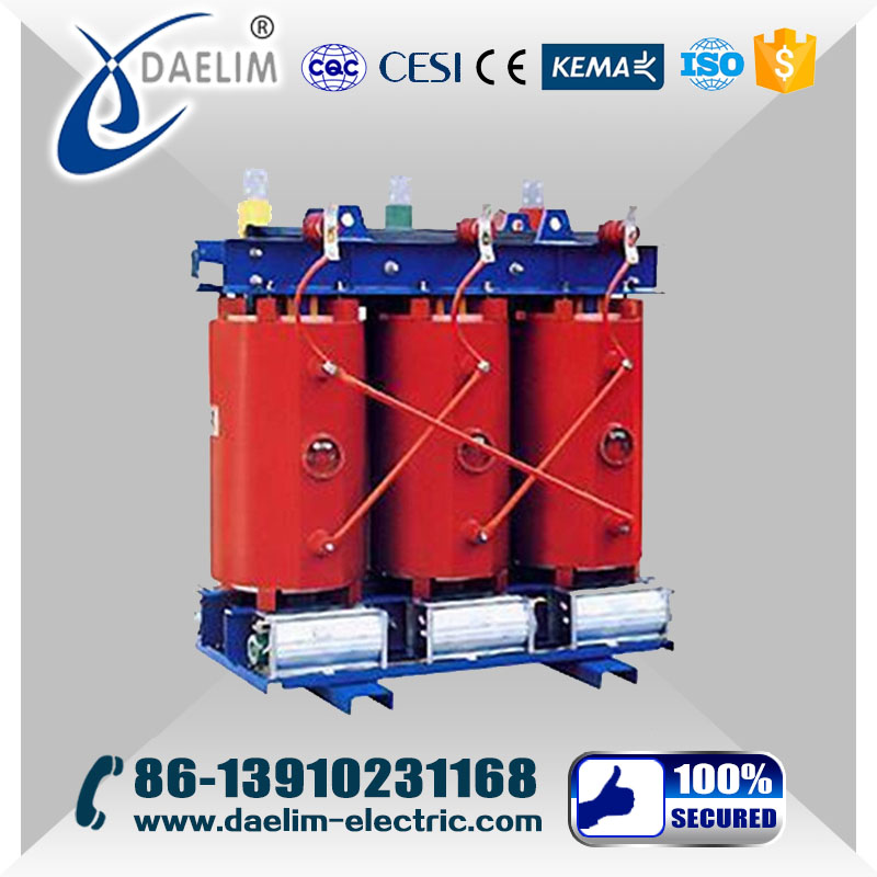 Step Down 22kv/6.6kv Exoxy resin Dry Type Power Transformer Price