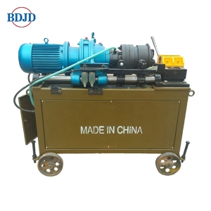 Manual operated rebar thread rolling machine Thread knurling machine