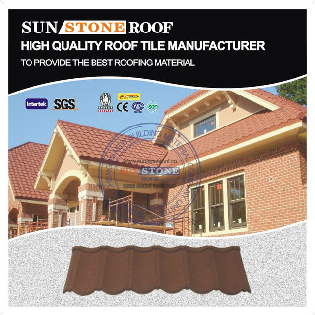 Colorful Stone Coated Steel Roofing Panel