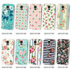 for samsung galaxy s4 s5 note 3 case floral pattern