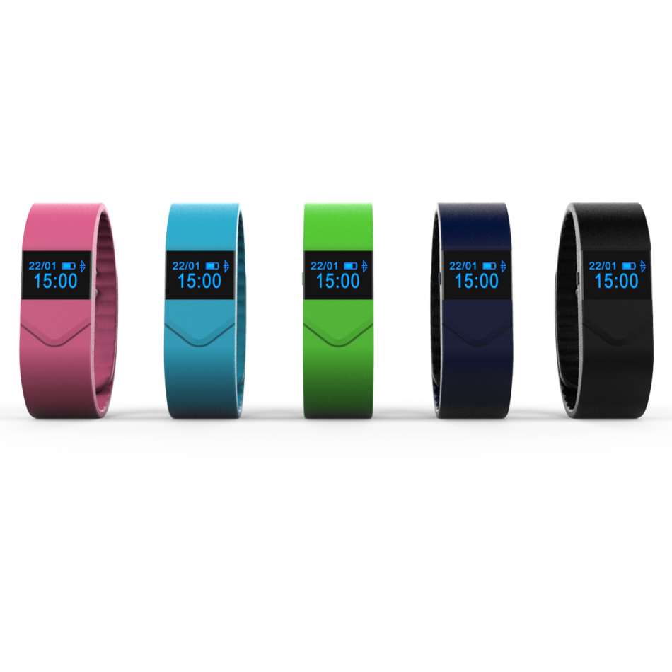 Waterproof Fitness Band With Blood Pressure Real-time Fatigue Monitor Blood Oxygen M5 Smart Band Fitness