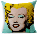 Hollywood star Marilyn Monroe design customizable cushion cover for memory or decoration