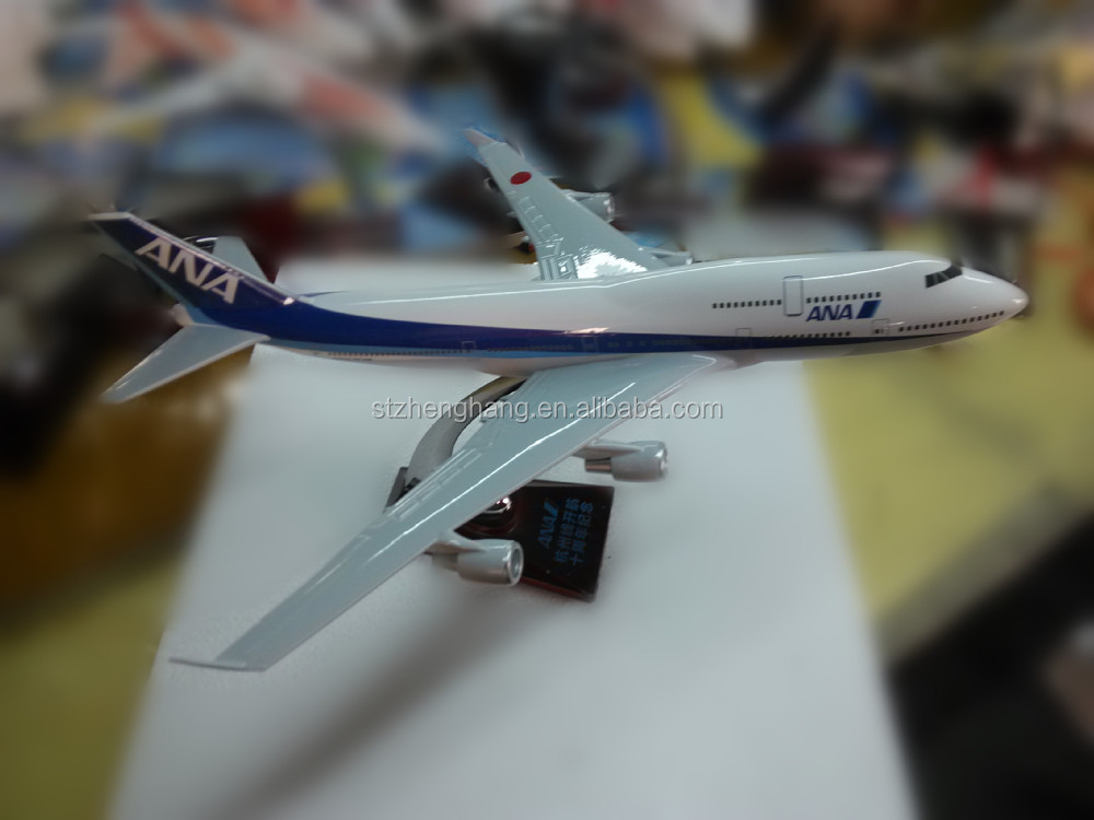 B747 Boeing Scale Plane Model, ISO9001, OEM, Airlines Souvenir, Business Gift, Decoration,
