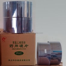 Food packaging pvc protection film to made transparent plastic cake box etc