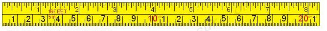 double sides body tape measure