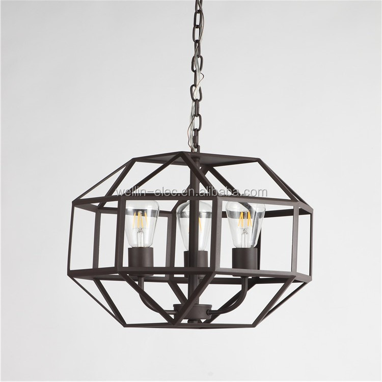 2017 New Metal Pendant Lamp Creative Hanging Lights Kit From China Factory