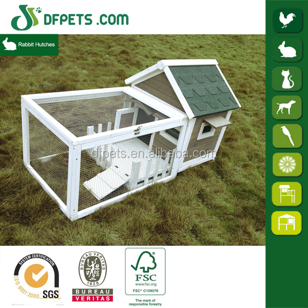 DFPets DFR065 Wooden Bunny Cage